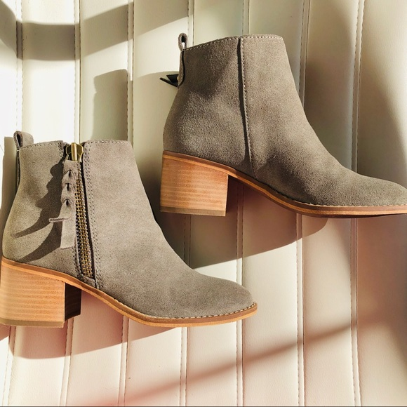 b4a56efa04ec BP Shoes - BP. Grey Suede Booties 5M